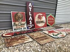 Vintage Mobil Gas Signs In Collectible