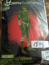 Jaw Dropper Green Morphsuit Costume Adult #6