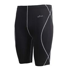 Emfraa mens running gym baselayer shorts Xl