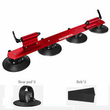 RockBros Roof-top Bicycle Rack Carrier Quick Installation Suction Roof Rack Red