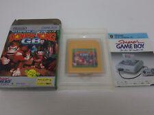 gameboy Donkey Kong GB game boxed Japan Nintendo Game Boy GB