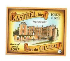 Belgium - Beer Label - Kasteel Bier, Ingelmunster - Donker - 1997