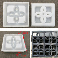 30*30cm DIY Window Wall Brick Driveway Paving Stone Mold Concrete Stepping Mould