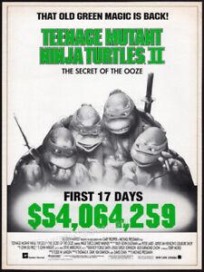 Teenage Mutant Ninja Turtles II__Orig. 1991 Trade AD / poster__TMNT_Secret Ooze
