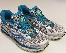 Saucony Ride 5 Women's White Blue WORN ONCE Tennis Shoe Run Sneakers Train Sz 6