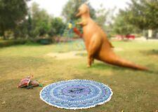 Tapestry Hippie Throw Yoga Mat Towel Blanket Mandala Round Bohemian Beach #RUD-6