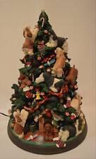 Danbury Mint Cocker Spaniel Dog Christmas Tree Figurine Does Not Light