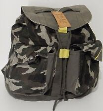 BNWT BILLABONG CAMO OVER AND OUT BACKPACK FESTIVAL COTTON CANVAS RUCK RRP $59.99