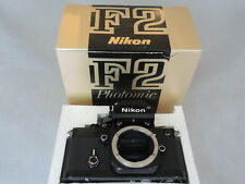Nikon F2 Photomic, Black, Excellent ++, Boxed, Matching Numbers