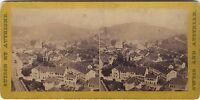 Baden Canton Aargau Suisse Foto A C Stereo Vintage Albumina Ca 1865