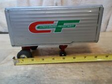 Consolidated Freightways CF Tin Toy Trailer Made in Japan