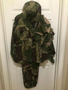 South African Adro Rhodesia Pattern Brushstroke Camo Uniform Set Complete Size L