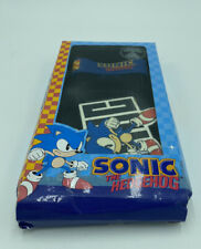 Sonic the Hedgehog Rubber Wristband & Belt Buckle Used in Box