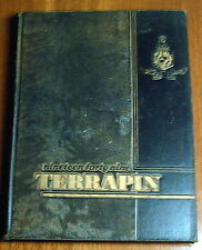 THE 1949 TERRAPIN UNIVERSITY OF MARYLAND TERRAPINS COLLEGE ANNUAL YEARBOOK