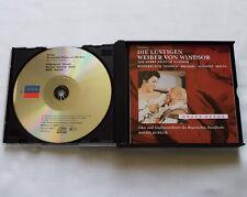 KUBELIK/NICOLAI Die Lustigen Weiber von Windsor GERMANY 2CD box DECCA 443 669-2