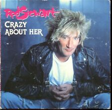 ROD STEWART - CRAZY ABOUT HER - CARD SLEEVE 3 INCH 8 CM CD MAXI