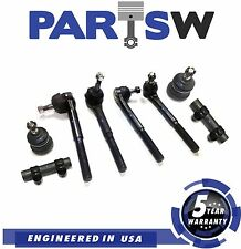8 Pc Suspension Kit for Camaro & Firebird 82-92 Tie Rod Ends / Lower Ball Joints