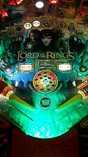 Lord of the rings/Ghostbuster/Batman 66/Scared Stiff Pinball trough light