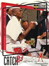 Michael Jordan 1997 Upper Deck Collector's Choice Catch 23 #189 Basketball Card