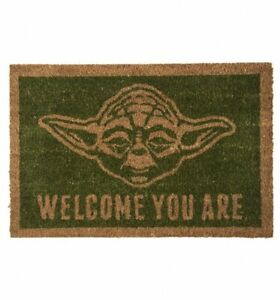Official Star Wars Yoda Welcome You Are Door Mat