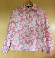 Boden Hip Length Collared Floral Tops & Shirts for Women
