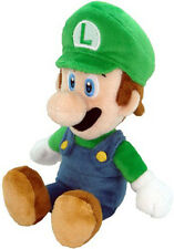 "New Mario Run (1216) 9"" Luigi Stuffed Plush Doll Toy Super Mario Little Buddy"