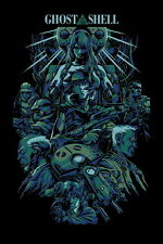 """040 Ghost In The Shell - Mobile Armored Riot Police Anime 14""""x21"""" Poster"""