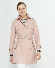"""Cole Haan trench coat - Brand NEW BNWT - Pale Pink XS size """"CANYON ROSE"""" color"""