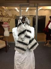CHRISTIAN DIOR CHINCHILLA SCARF MUFFLER WRAP STOLE NECKPIECE 4 COAT NEW WHOLESAL