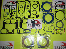 Harley XL Sportster 883 Upper/Top End Gasket Set 1989-03 w/Teflon+Carbon Head