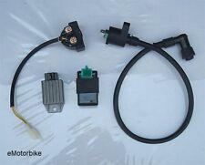 CDI BOX + SOLENOID + REGULATOR + COIL 110cc 125cc ATV GO-KART DIRT BIKE TAOTAO