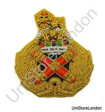 British Army Field Marshal Beret Badge Kings Crown R1348