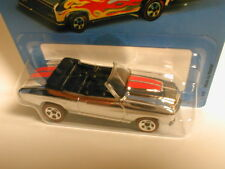 Hot Wheels super chromes 1970 CHEVELLE CONVERTIBLE silver chrome