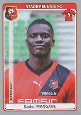 N°385 KADER MANGANE # SENEGAL STADE RENNAIS.FC XAMAX STICKER PANINI FOOT 2012