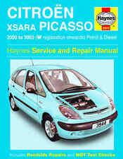 Citroen Xsara Picasso Repair Manual Haynes Manual Workshop Manual 2000-2002 3944