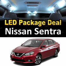6x White LED Lights Interior Package Deal For 2013 2014 2015 2016 Nissan Sentra