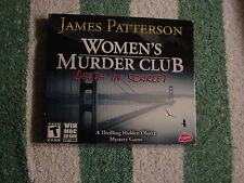 James Patterson Women's Murder Club - Death in Scarlett (PC, 2010) Rated T  NEW