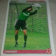 CARD JOKER 1994 CREMONESE MANNINI FOOTBALL SOCCER ALBUM