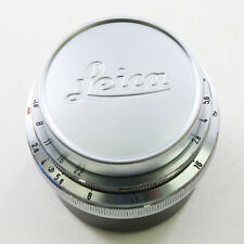 NEW Leica Silver 42mm Front Lens Cap for Leitz M Summilux-M Summicron-M 50/2.0