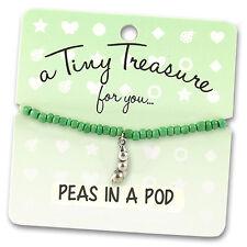 Tiny Treasures Friendship Bracelet - PEAS IN A POD