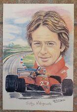 Postcard Cartolina Ferrari Gilles Villeneuve F.1 1991 Numerata