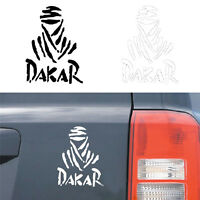 Universal DAKAR Off-road car sticker Reflective&Waterproof Creative White/Black