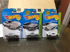 Hot Wheels 007 Aston Martin Lotus Esprit TV Movie James Bond LOT