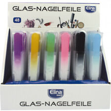 Nagelfeile, Glas feile Color mit Schutzhülle