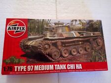 AIRFIX Maquette 1/76 TYPE 97 MEDIUM TANK CHI HA Ref. A01319 HORNBY