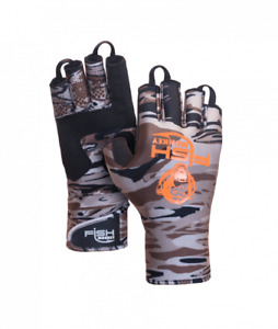 Fish Monkey mens Backcountry II Half-Finger Insulated Fishing Glove size XL