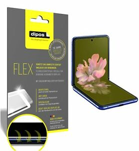 3x Protection pour Samsung Galaxy Z Flip Film d'écran, recouvre 100% l'écran,
