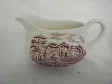 C4 Pottery Barratts Old Castle Gravy Jug 16.5x10x9cm 6F2C