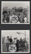 BARBARA STANWYCK Caméra Robert FLOREY Horseracing MORGAN Tournage 2 Photos 1935