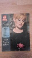 Vista de Punto Imágenes de La Monde - N º 624-1960 - Brigitte Bardot